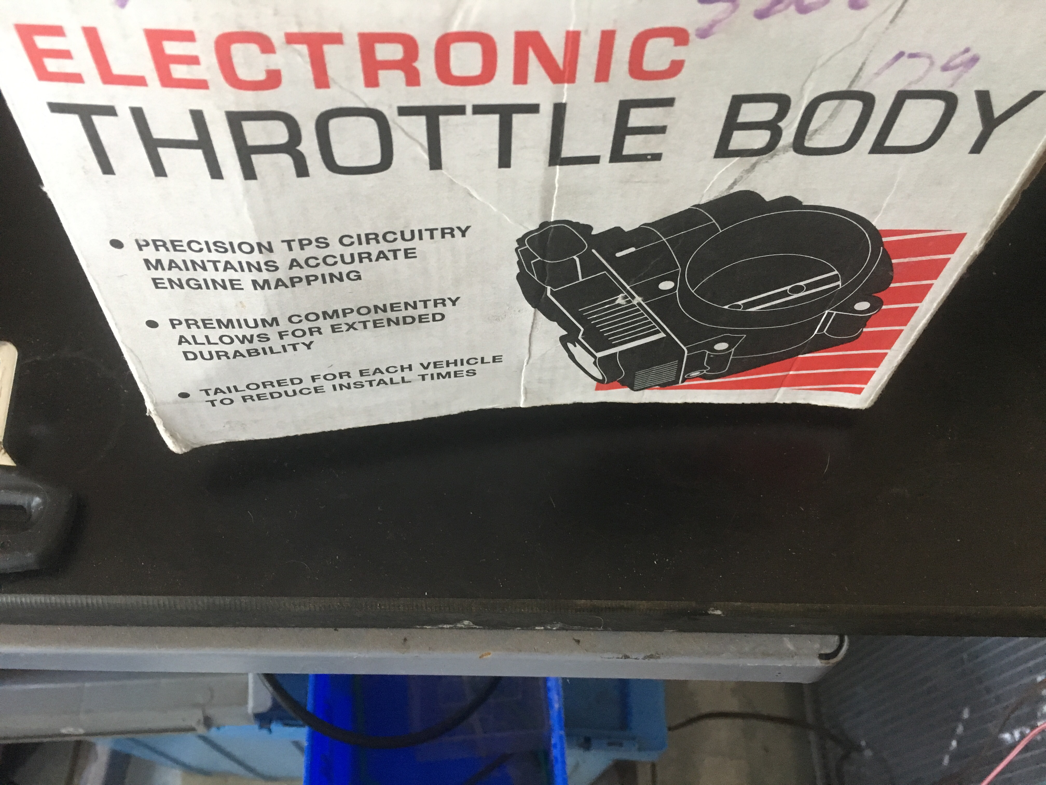 Hitachi ETB0015 Throttle Body